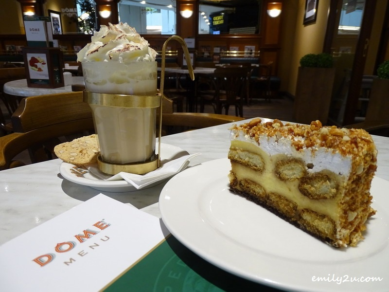 5. Hot Toffee Nut (L) & Tiramisu (R)