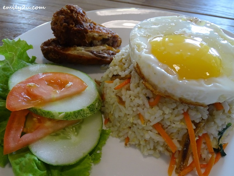 5. Nasi Goreng Kampung from the à la carte menu