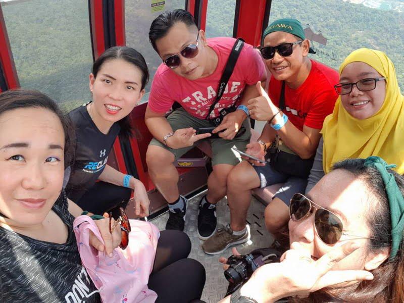 7. taking the SkyCab (photo credit: Miera Nadhirah)