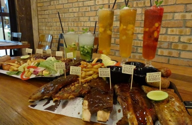 Introducing Morganfield's New Pork Rib Platter