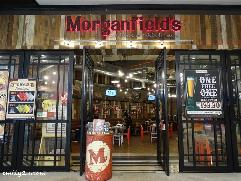 Morganfield's, SkyAvenue