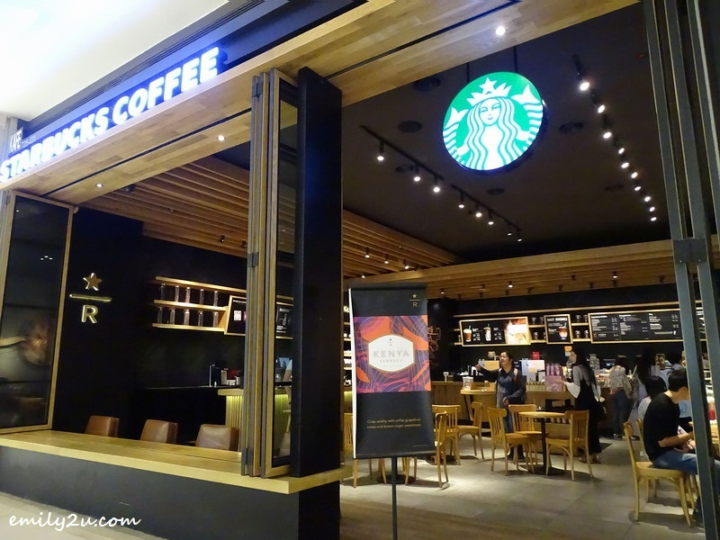 Starbucks Reserve, SkyAvenue