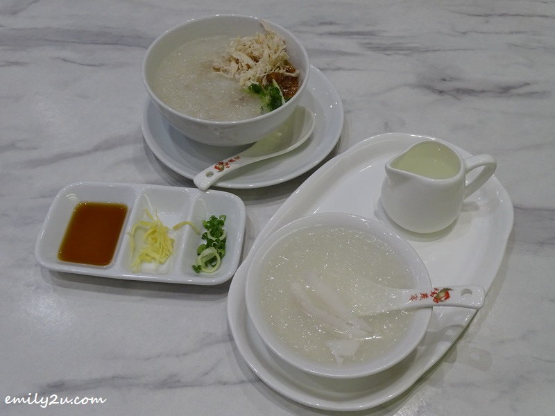 Chicken Porridge with Bird's Nest and Bird's Nest Coconut Juice @ Tian Ma Bird Nest, SkyAvenue
