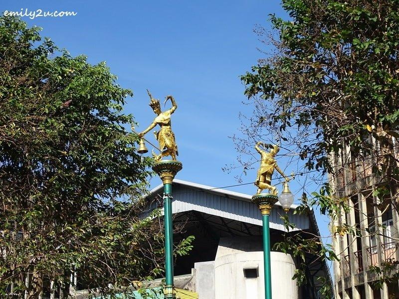Hat Yai street lamps