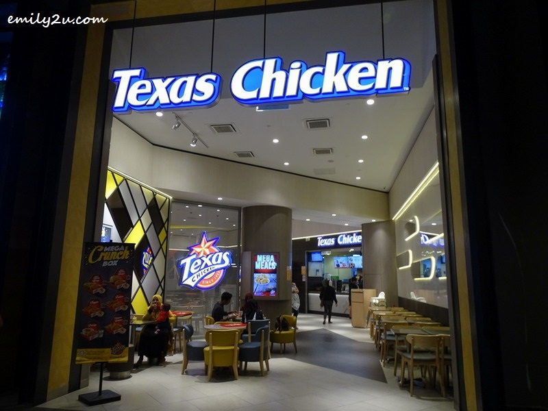 1. Texas Chicken, SkyAvenue