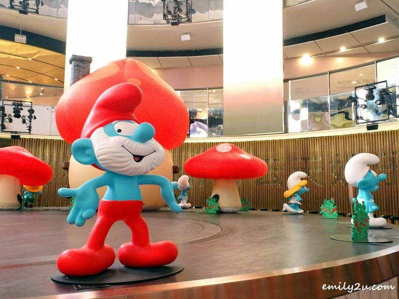 1. Papa Smurf leads the cast of this special 60th anniversary showcase