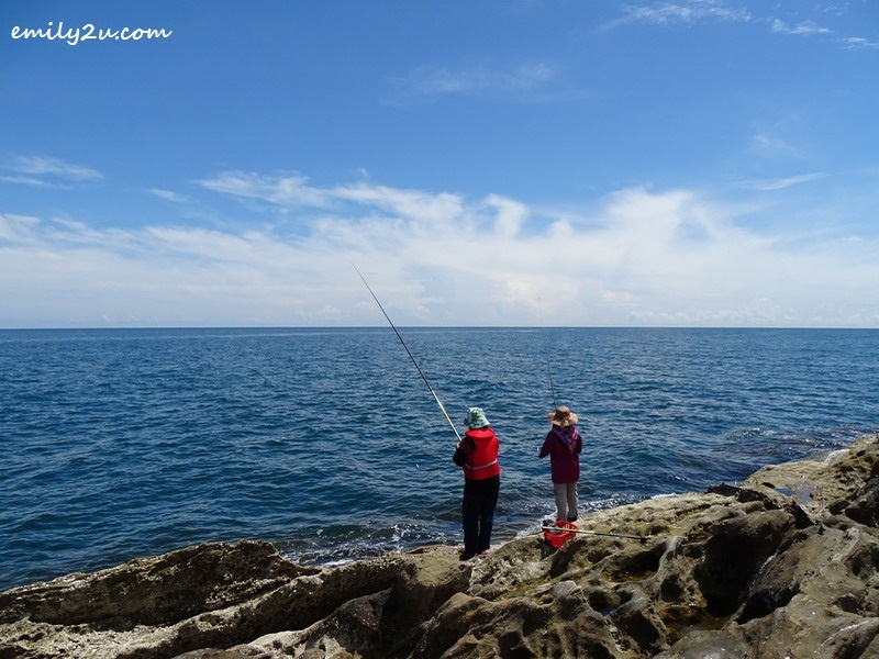 10. fishing off the waters of Pulau Layang-Layangan