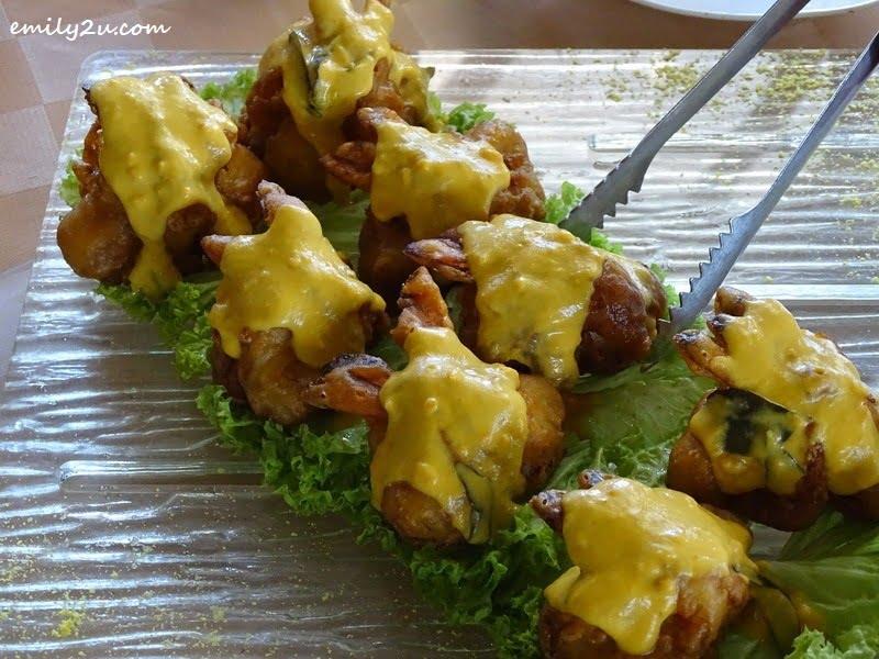 11. Prawn Banana Fritters