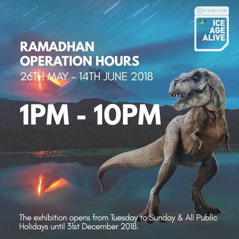 12. Ice Age Alive Ramadan promotion