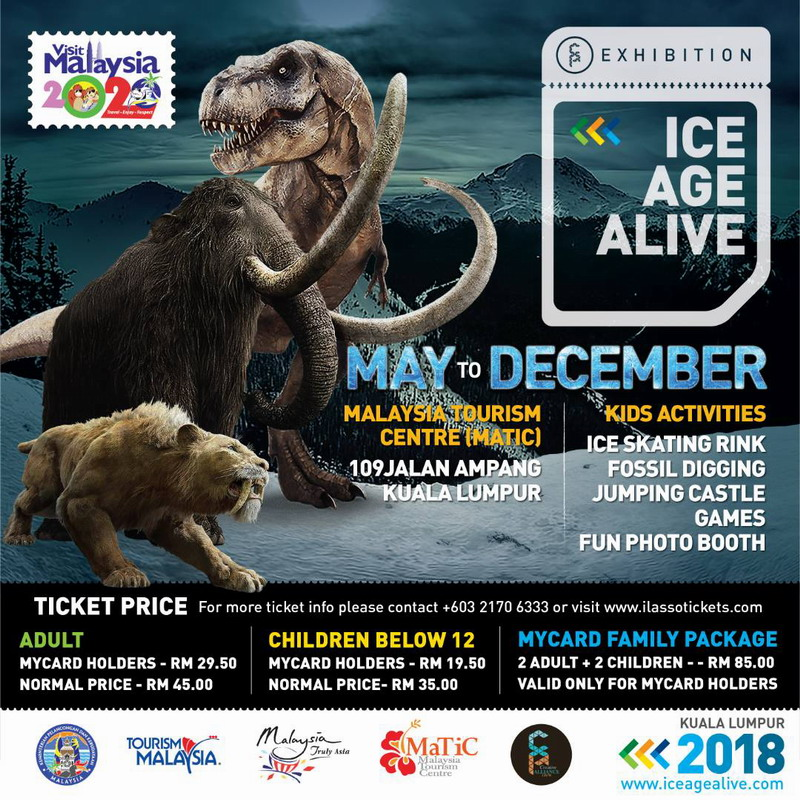 13. Ice Age Alive promotional poster