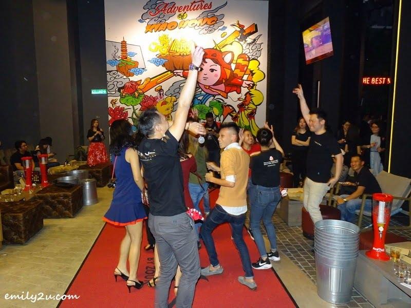 14. pre-clubbing dancing