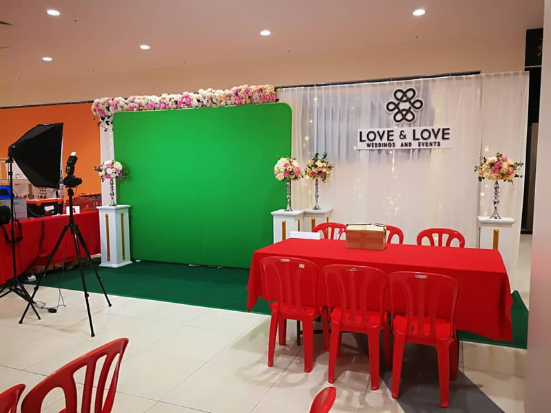 2. official decorator, Love & Love Weddings and Events