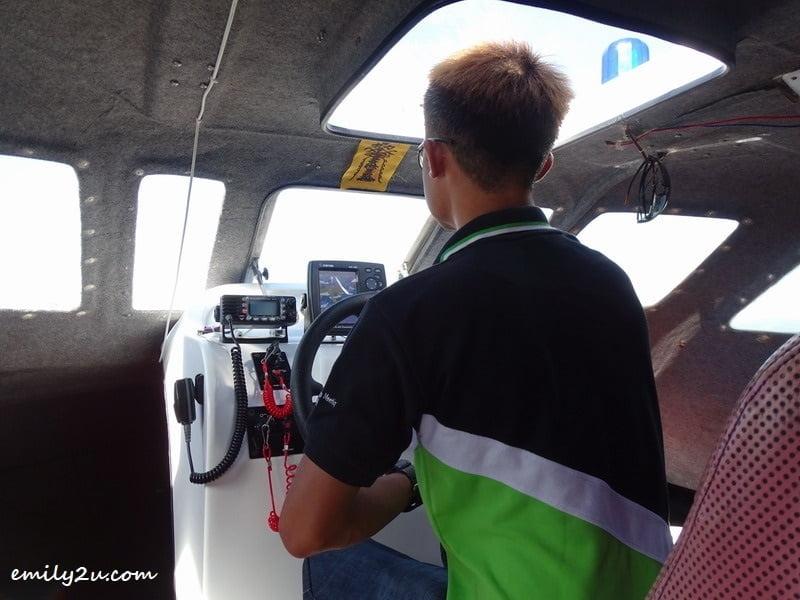 2. heading to Pulau Rusukan Besar