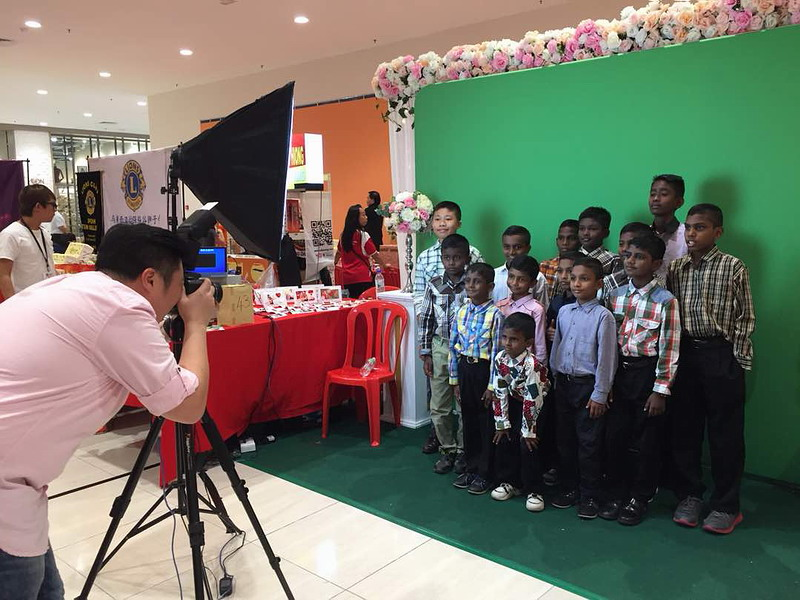 4. group photo for children from Ipoh Precious Gift Orphanage Society