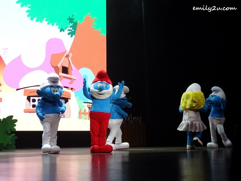 4. The Smurfs in action
