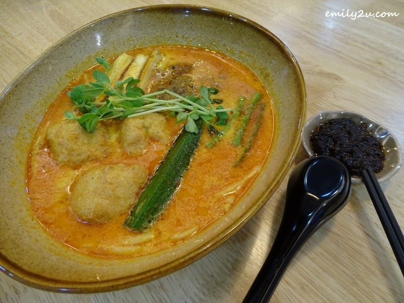5. BMS Soy Milk Curry Laksa