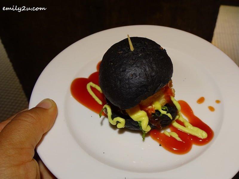 5. Charcoal Mini Burger