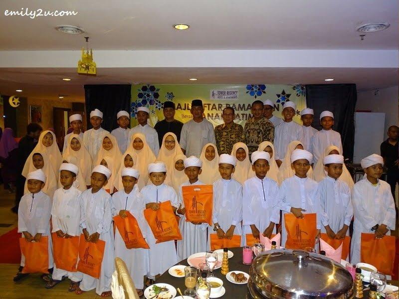 5. children from Pertubuhan Kebajikan Anak Yatim Bait Al Amin, Parit