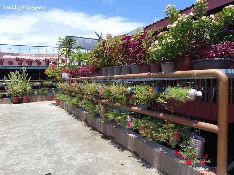 6. flower garden