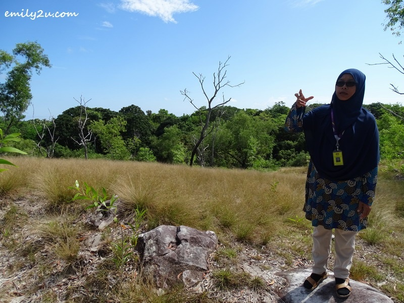 6. Pn. Nurlina shares the history of the land