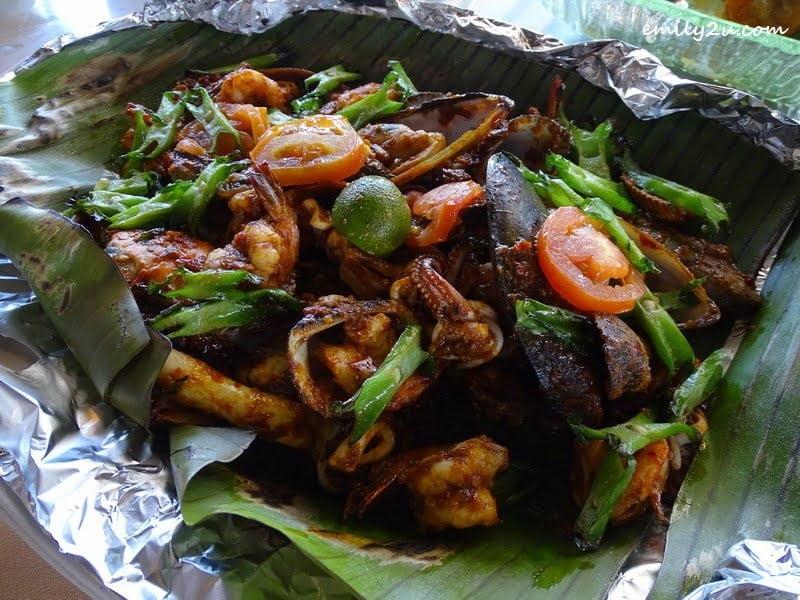 7. BBQ Sambal Seafood