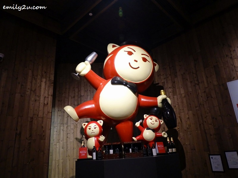 7. RedTail Bar mascot, Xiao Hong (Red Panda)
