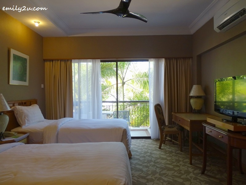 7. guest room with a scenic view