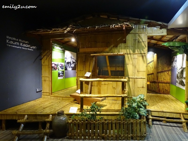 8. replica of Kedayan house