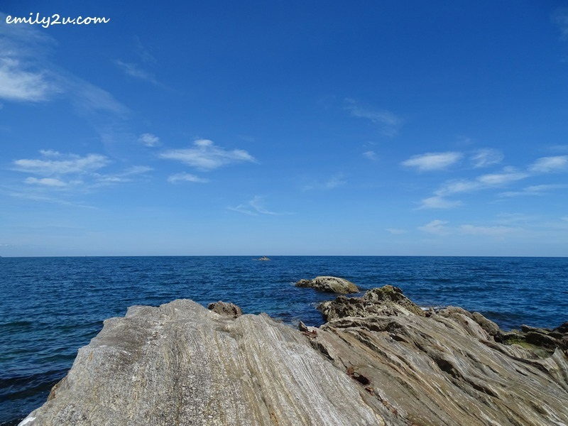 8. the rocky outcrop of Pulau Layang-Layangan