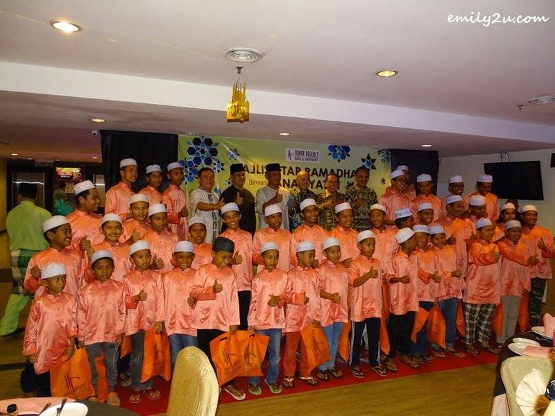 8. children from Pertubuhan Anak Yatim Dahikmah, Gopeng