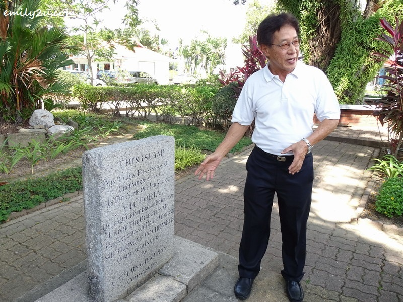 9. local historian Willie Teo explains about the background of Labuan