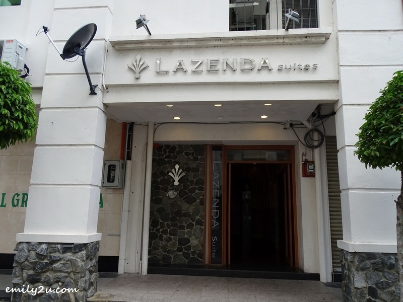 9. Lazenda Suites entrance