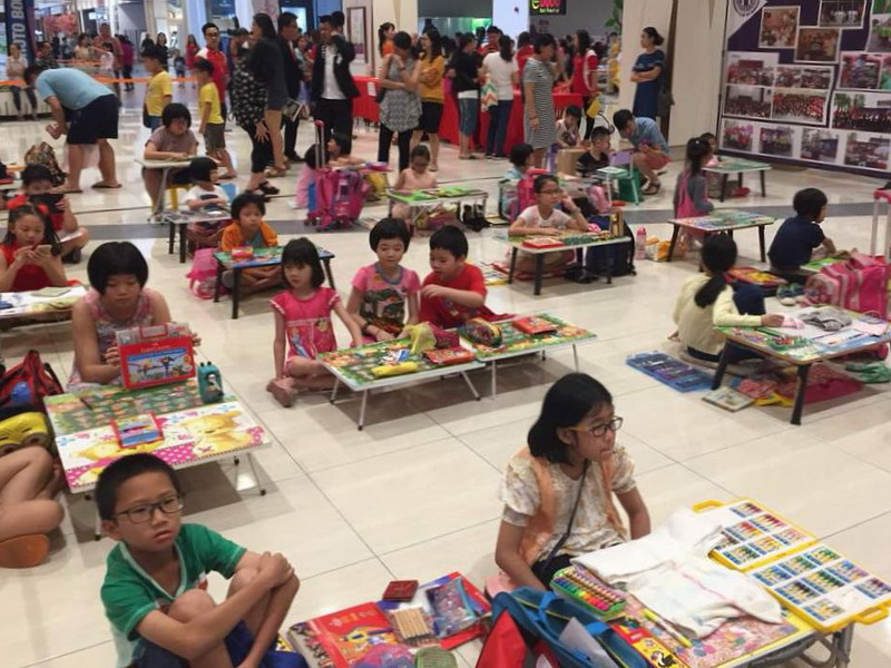 9. children's colouring contest