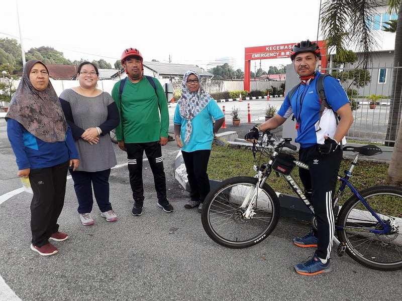 1. participants of Ipoh Car-Free Day
