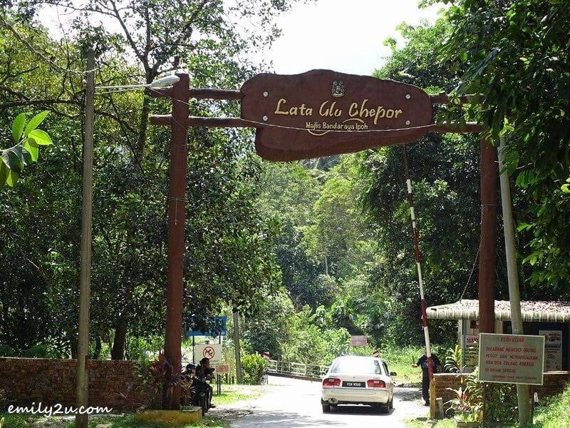 1. Lata Ulu Chepor - waterfall in Chemor, Perak