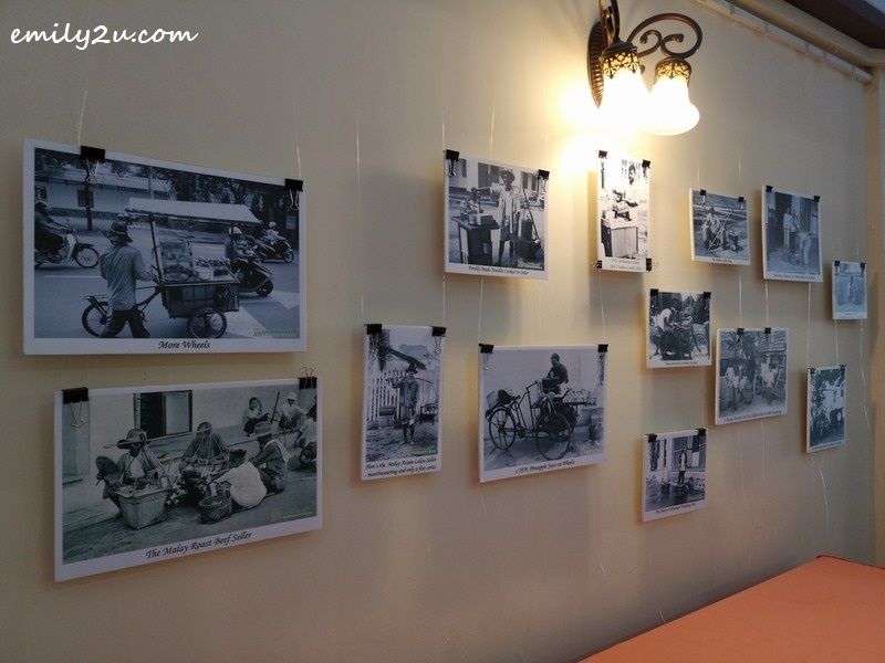 2. some of the photographs displayed