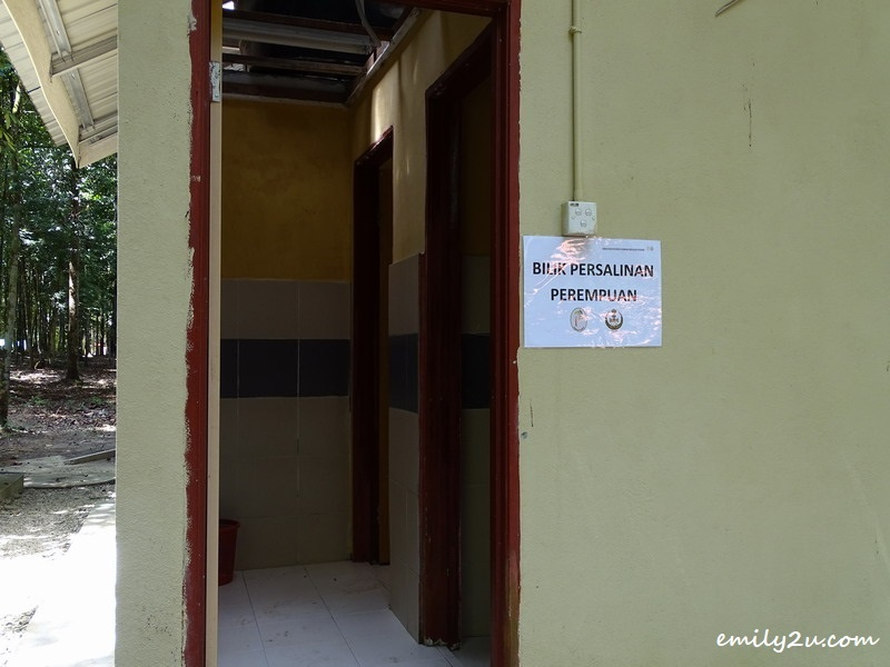 23. changing rooms