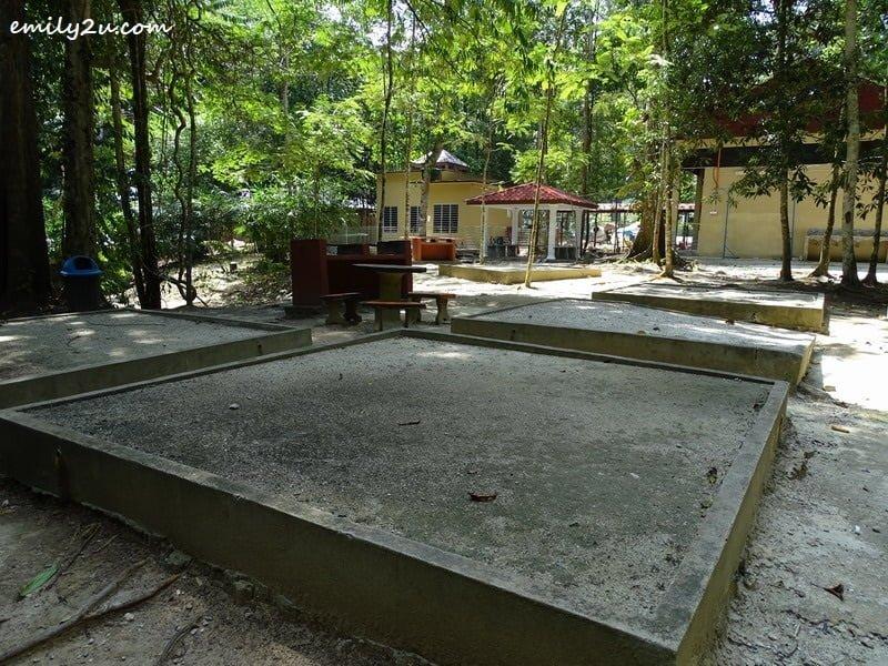 26. designated camping site
