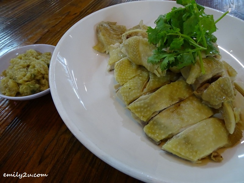 6. Salted Kampung Chicken (half portion)