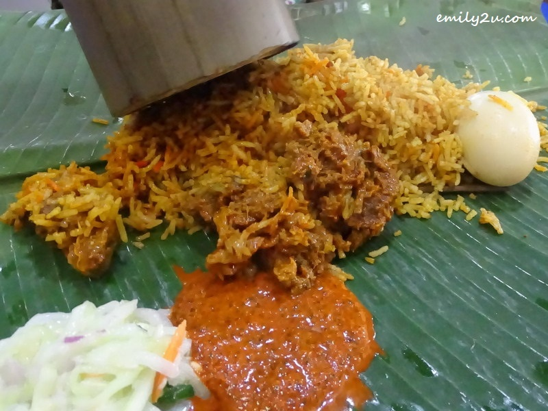 3. this is mutton bamboo masala biryani