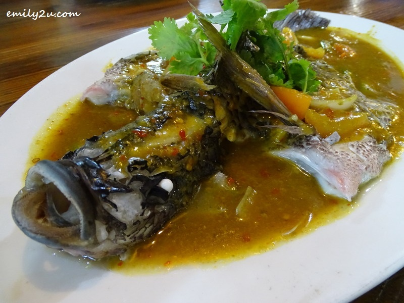 7. Steamed Tilapia with Batong Sauce