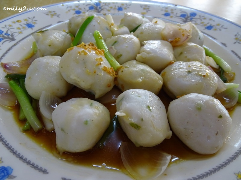 5. fish balls - handmade from Tofu Fish (Caesio cuning), a species of saltwater fish