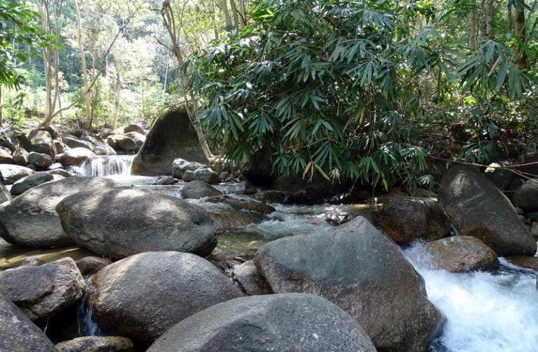 Lata Ulu Chepor (Waterfall) in Chemor, Perak