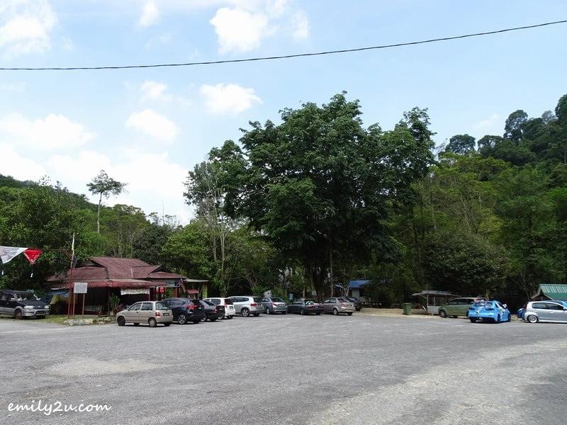7. parking area