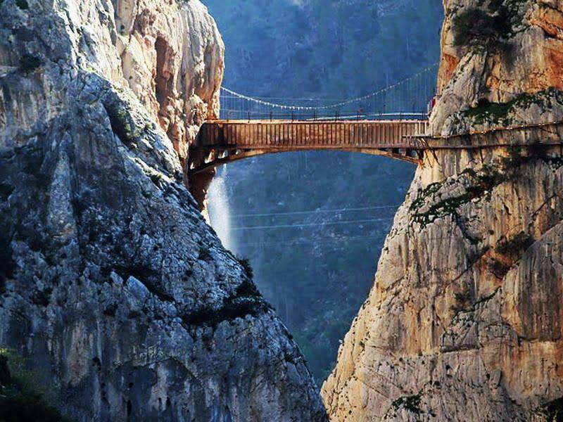 El Caminito del Rey (Credit: http://viajes.elmundo.es)