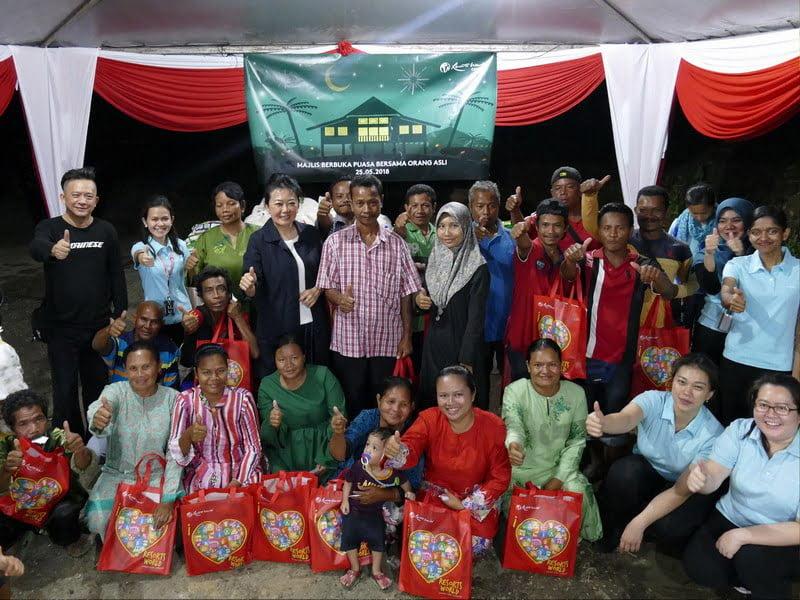 Genting Malaysia Buka Puasa with Orang Asli