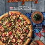 Ssamjeang Prawn Pizza