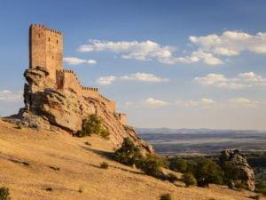 Zafra Castle in Guadalajara
