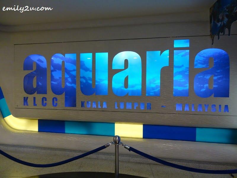 1. Aquaria KLCC