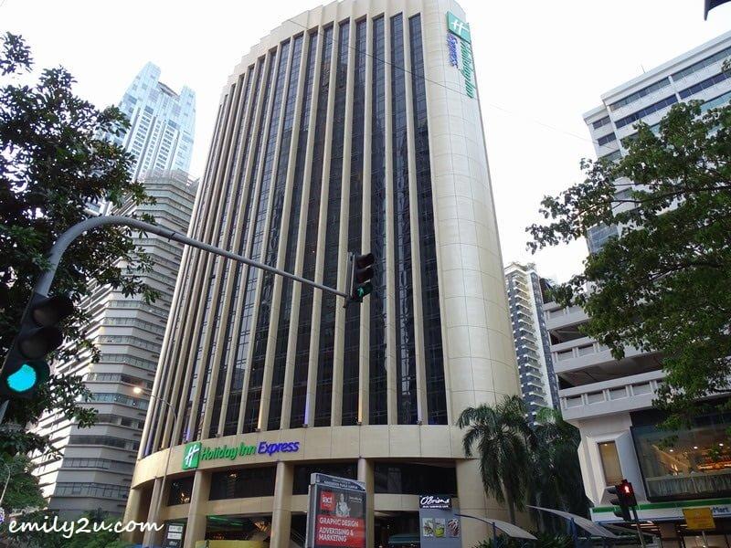 1. Holiday Inn Express Kuala Lumpur City Centre